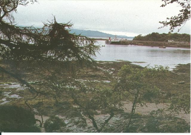 Looking across the Sound of Sleat from Armadale, Isle of Skye 1980's