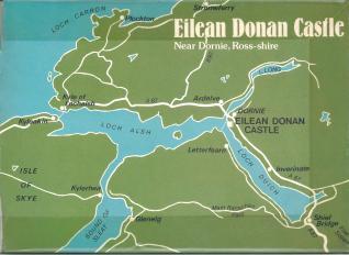 Eilean Donan Castle - Back Cover inside