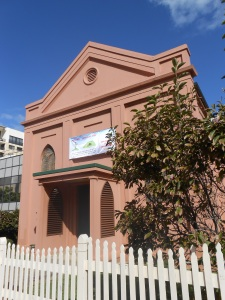 The Congregational Church in Market St Wollongong where Catherine McKenzie and her first husband John Ross were married.