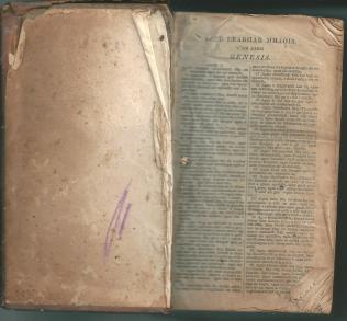 Edinburgh Bible Society Gaelic Bible 1837