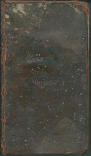 Edinburgh Bible Society Gaelic Bible 1837 cover