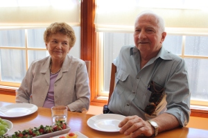 Catherine McKenzie descendant Reg Philp with wife Kath