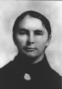 A young Catherine Sheather-Ross nee McKenzie
