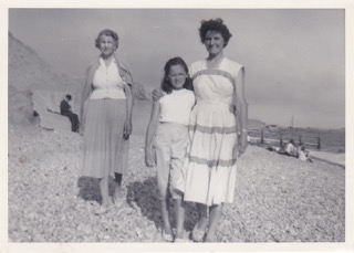 Nanny Smith, Mum & me Summer 1958