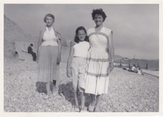 Nanny Smith, Mum & me Summer 1958